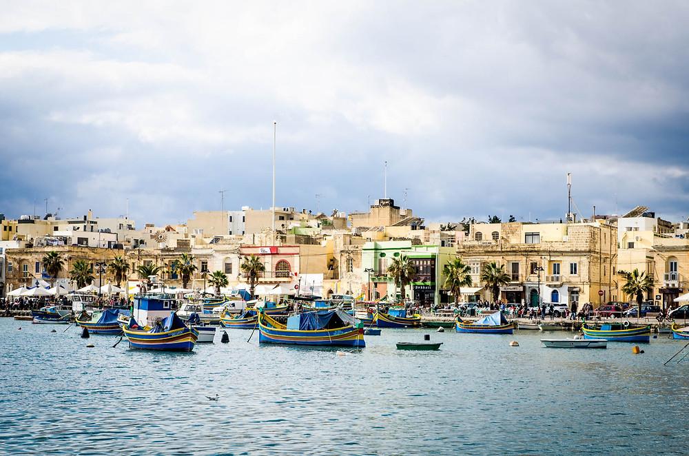 Marsaxlokk Malte