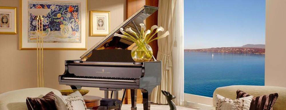 La Royal Penthouse Suite de l'hôtel President Wilson Genève