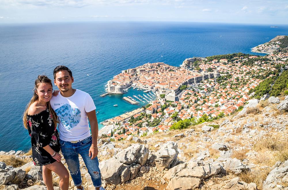 Les hauteurs de Dubrovnik
