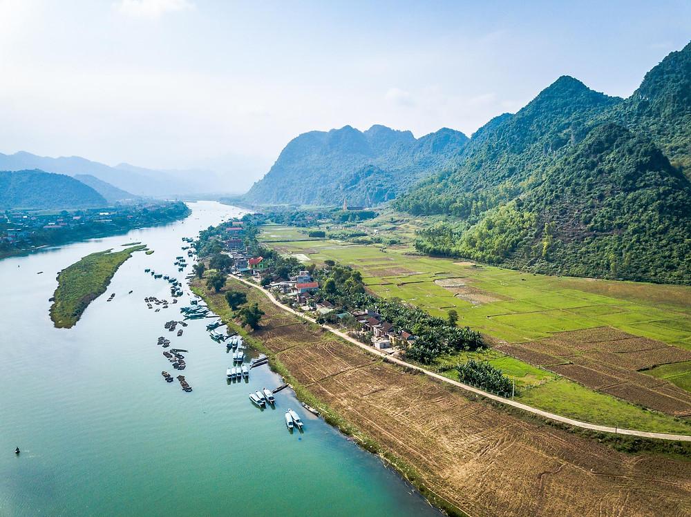 Les grottes du parc de Phong Nha Ke Bang