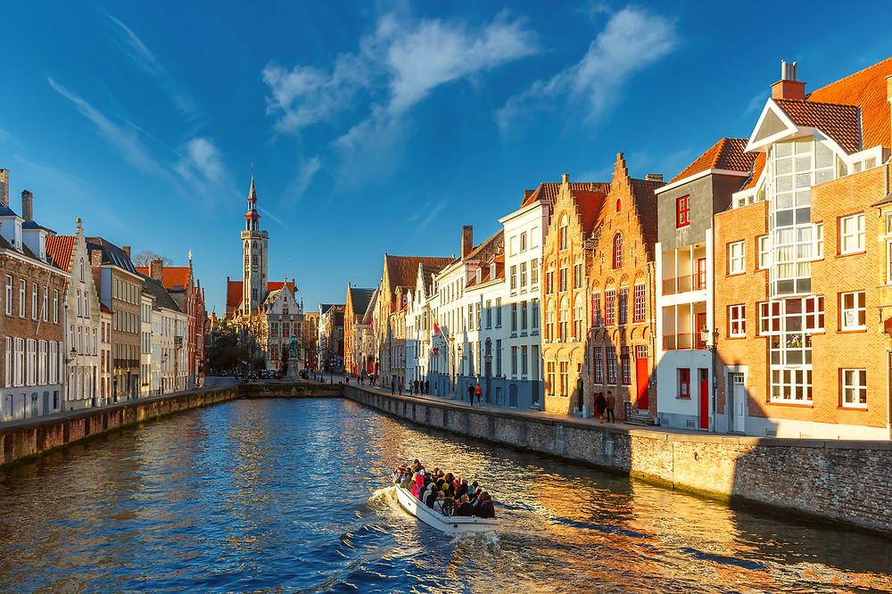 Croisière sur les canaux Bruges