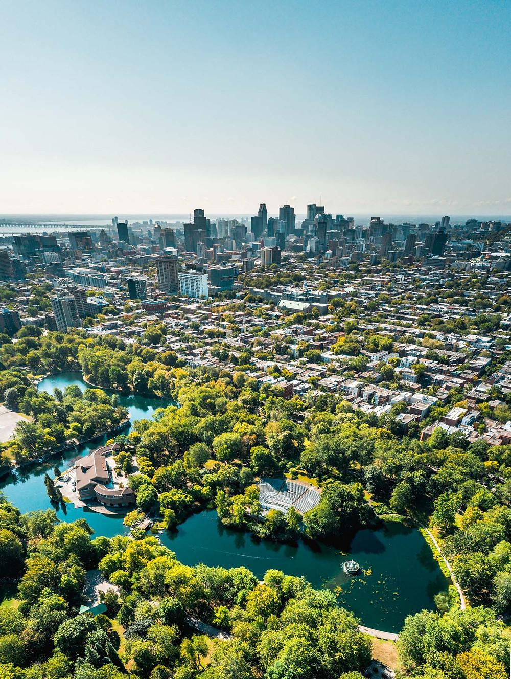 Parc La Fontaine Montreal