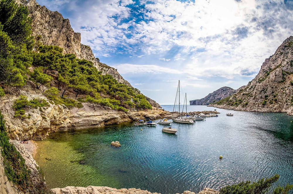 Calanques de Morgiou, Marseille
