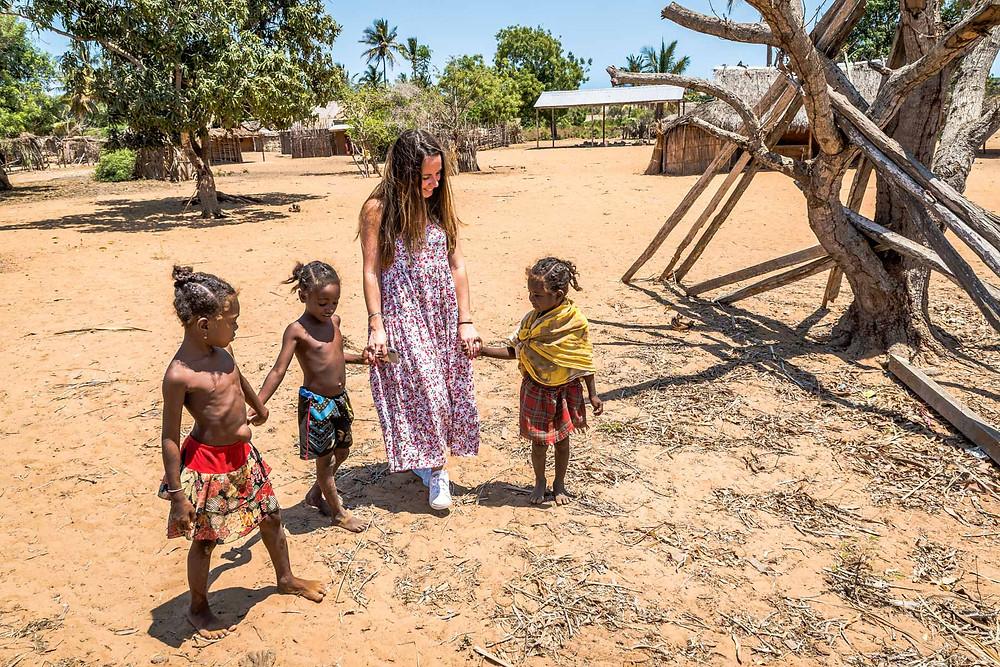 Village de Mangily Madagascar