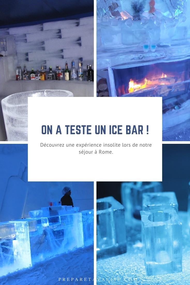 Ice Bar Rome