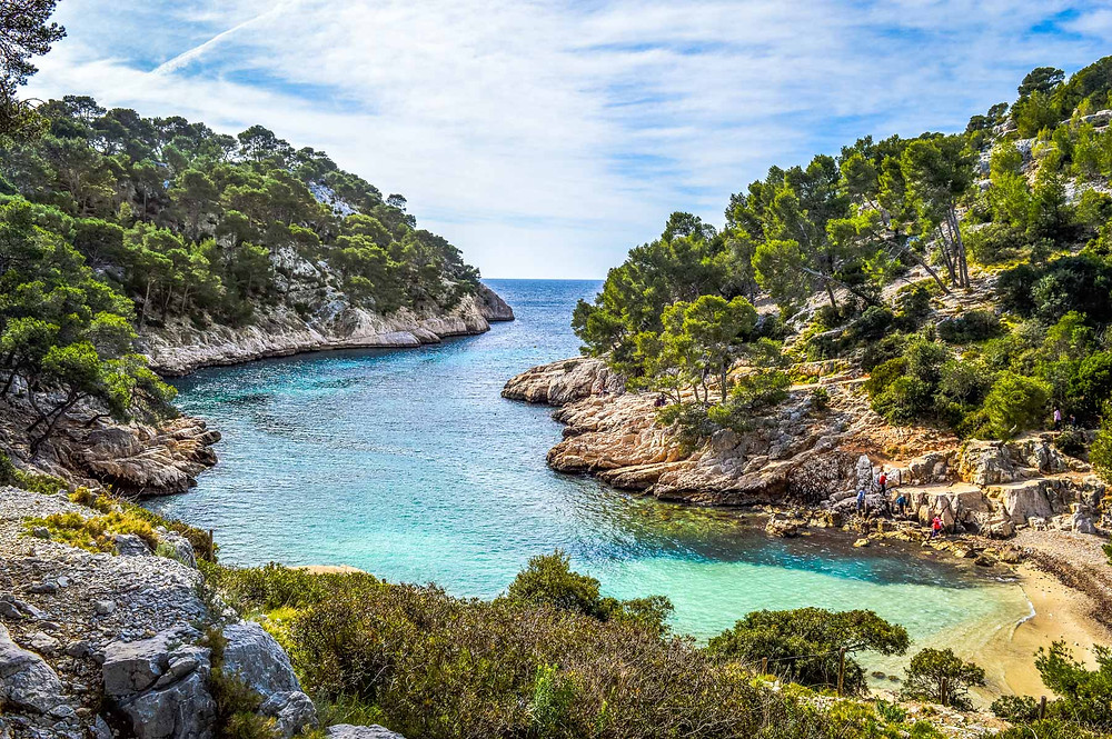 Calanque de Port-Pin, Cassis