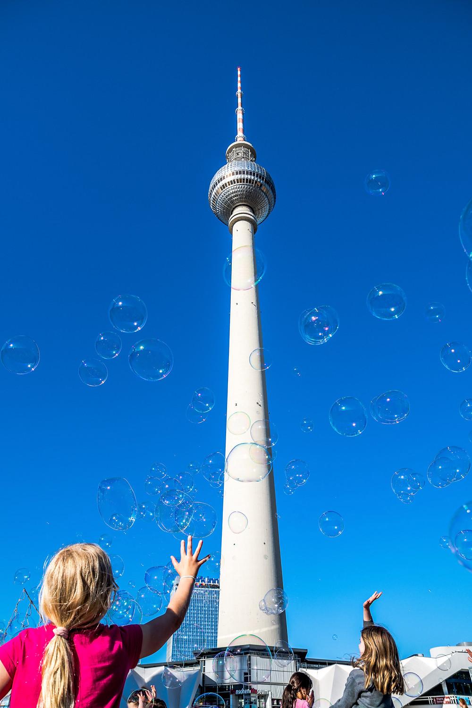 Fernsehturm Tour Télévision Berlin