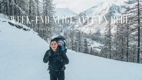 Week-end neige avec un bébé : 6 activités qu'il est possible de faire