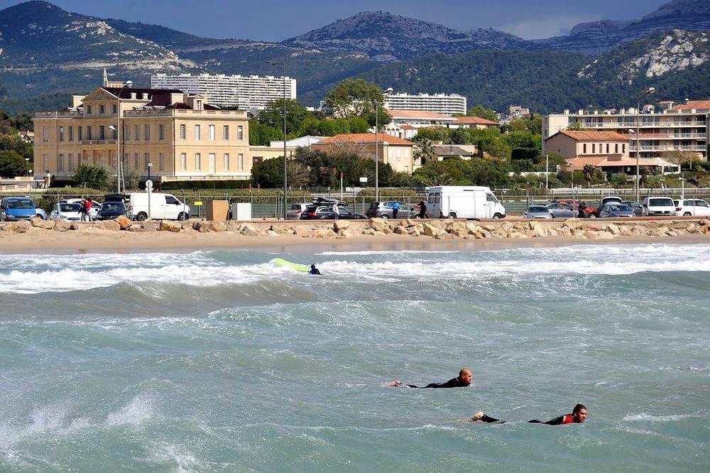 La Plage de l'Huveaune Marseille