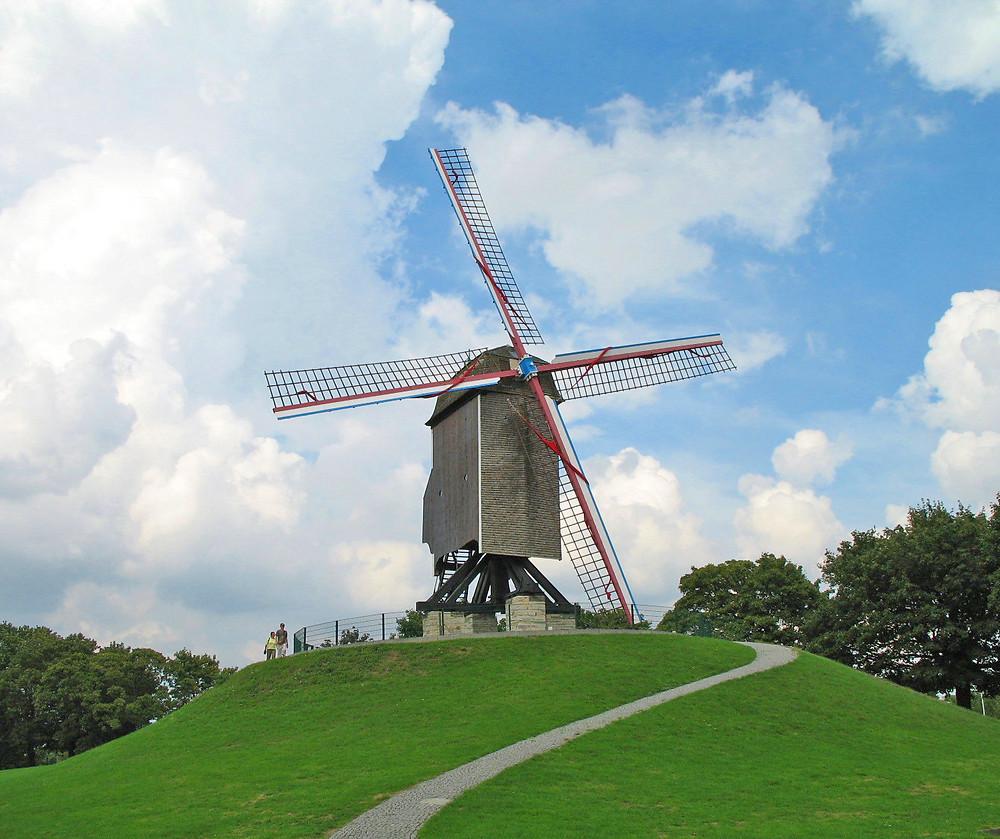 Moulins à vent Bruges