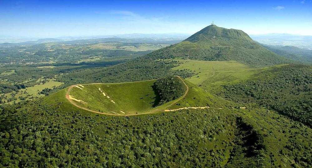 Le Parc naturel des volcans d'Auvergne