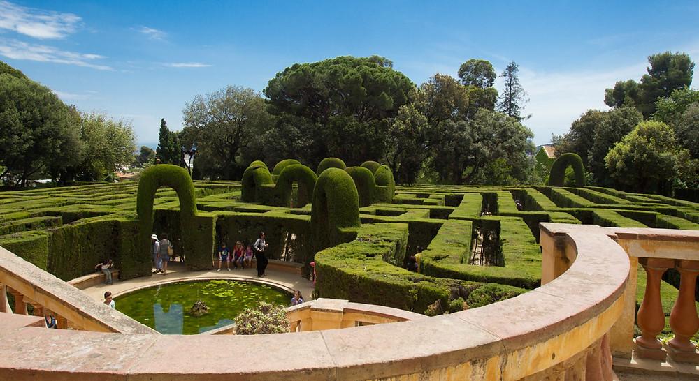 Parc del Laberint d'Horta Barcelone
