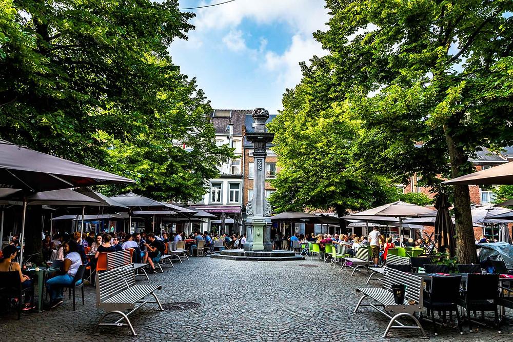 Place marché aux légumes Namur Namen Belgique