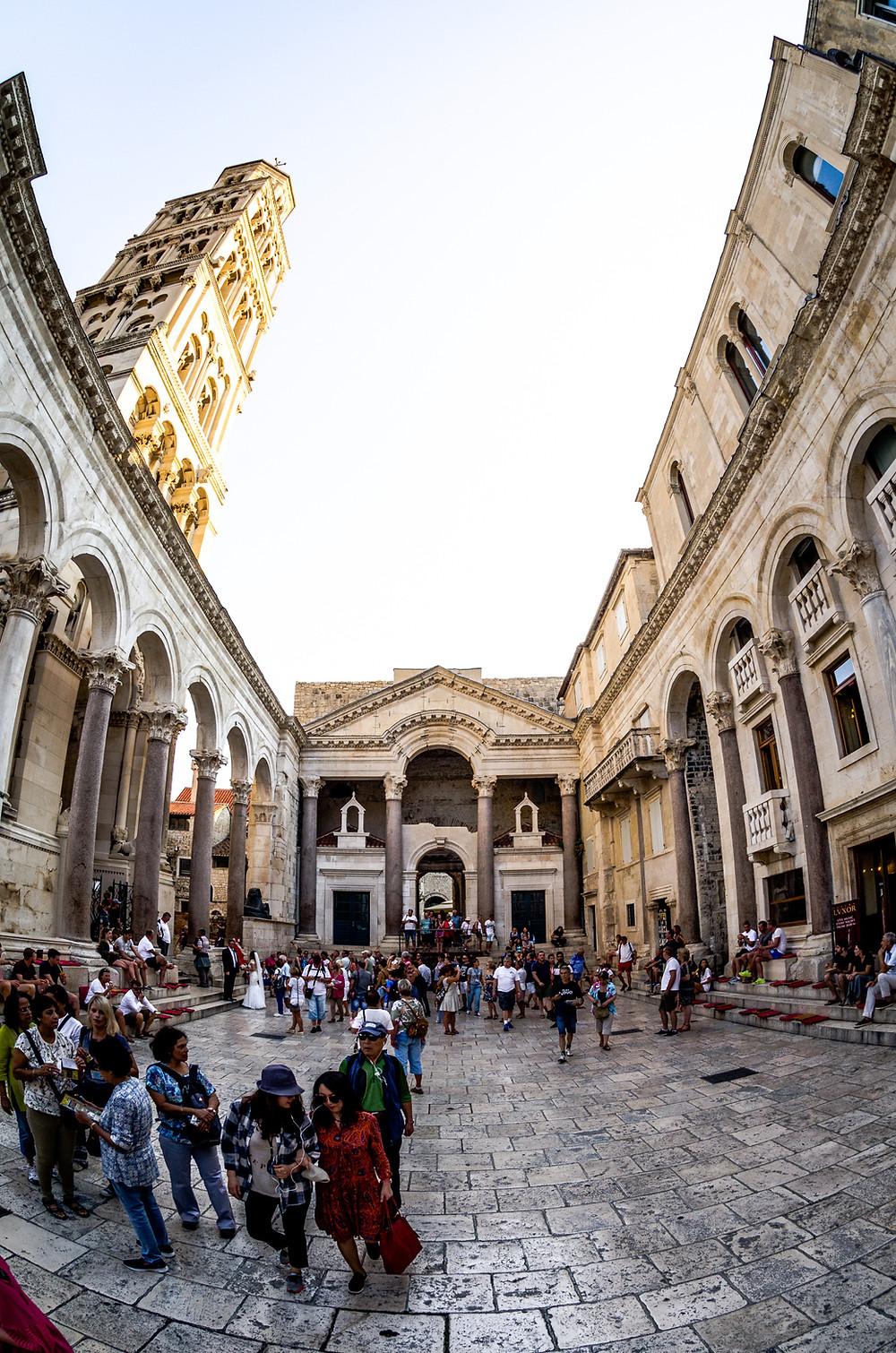 Palais de Diocletien Split