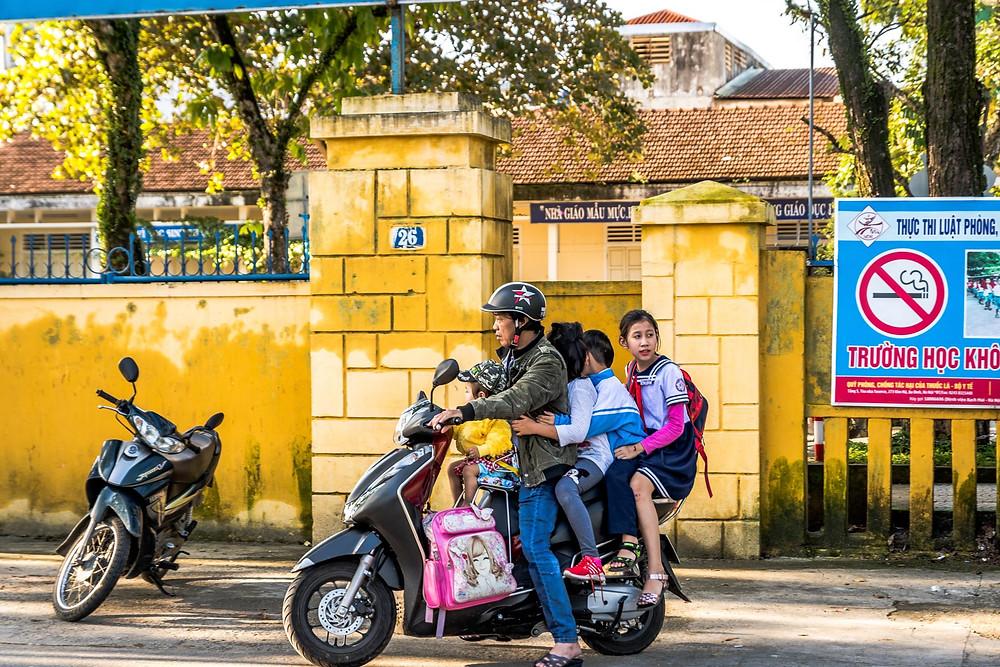 Visite de Hue Vietnam