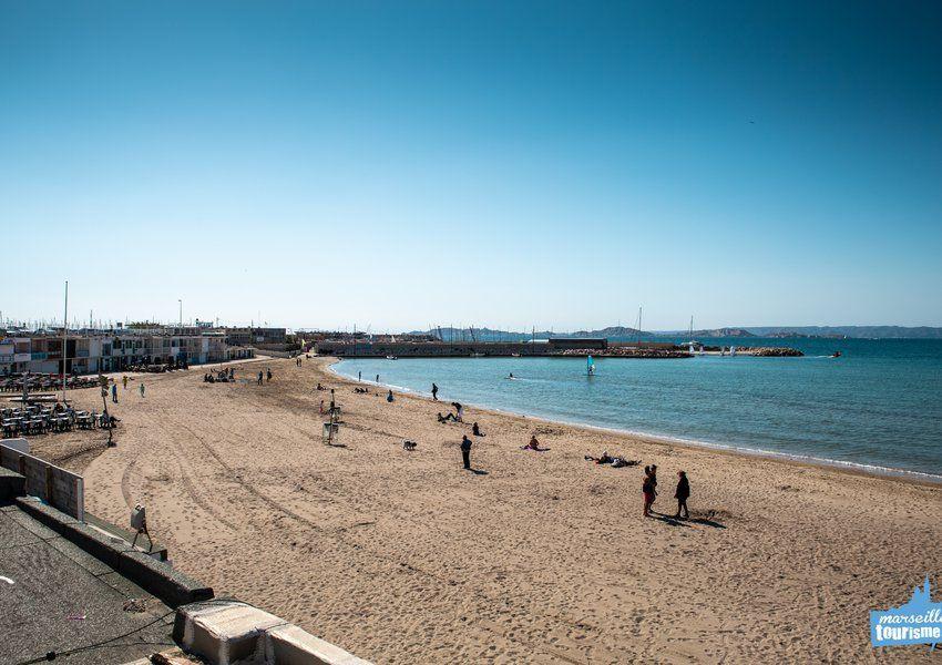 La Plage de la Pointe Rouge Marseille