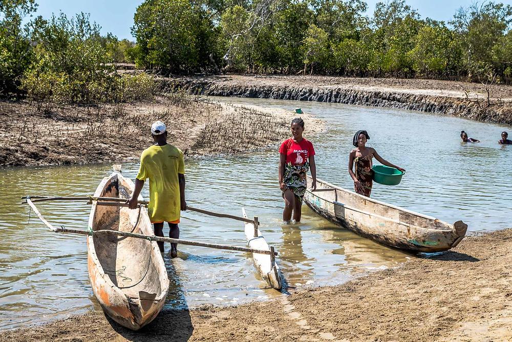 Pirogue Mangily Madagascar