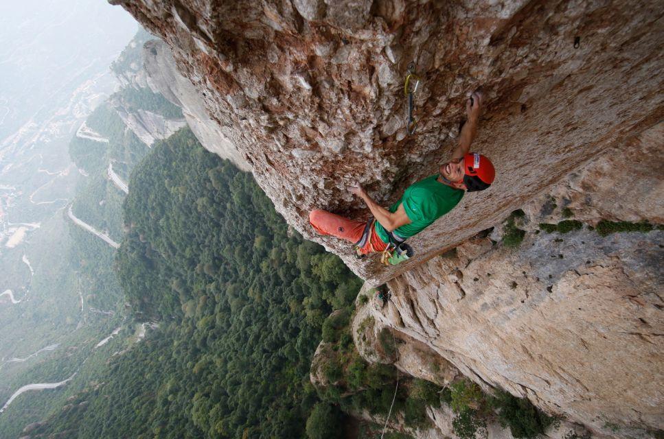 Escalade Montserrat