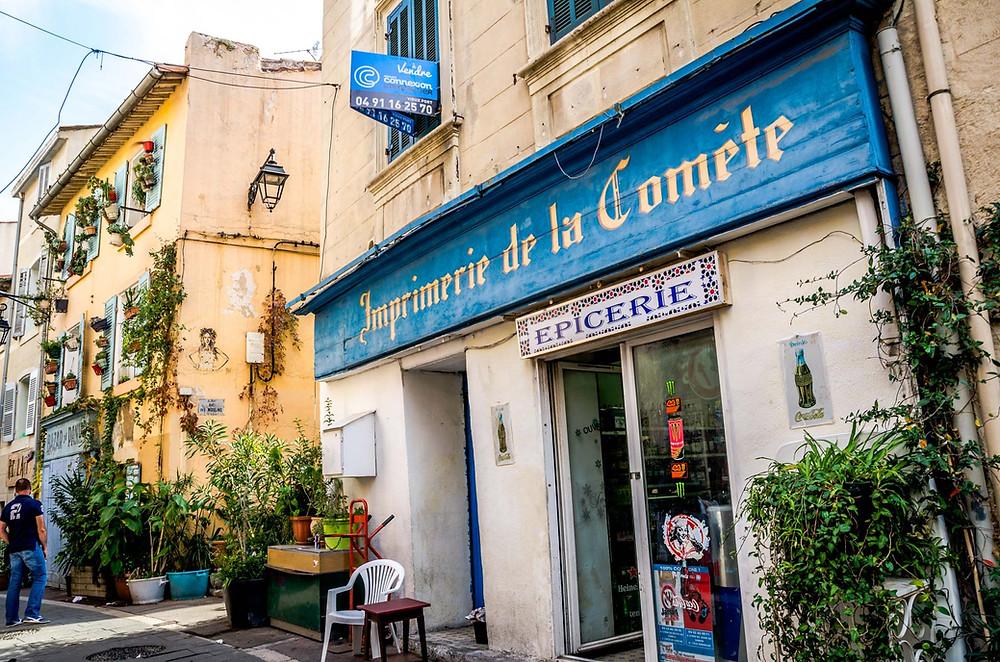 Quartier Le Panier, Marseille