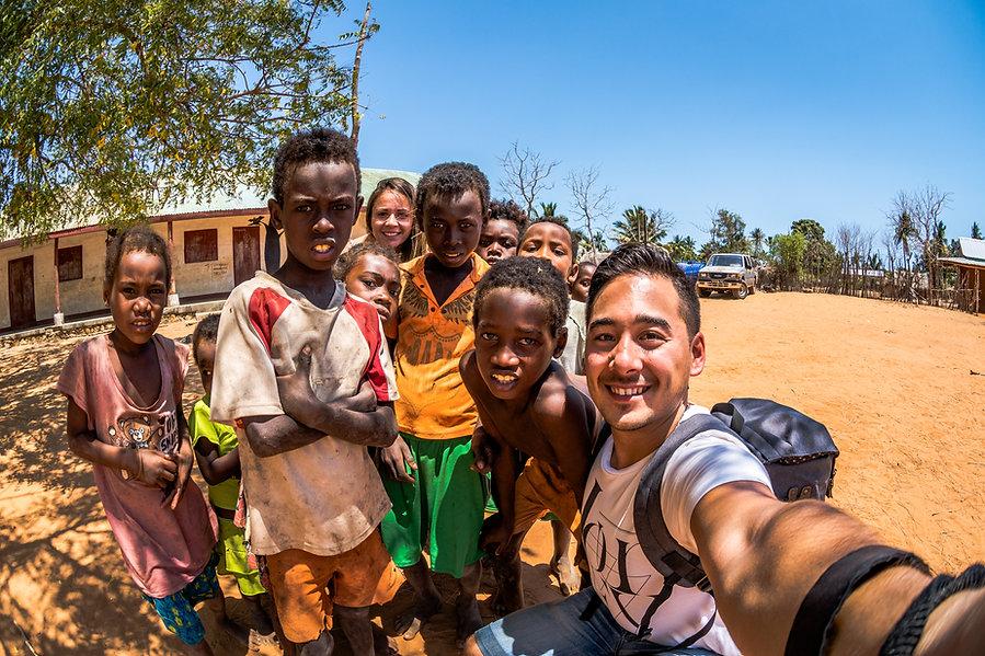 Village de Mangily, Madagascar
