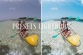 Presets Lightroom voyage