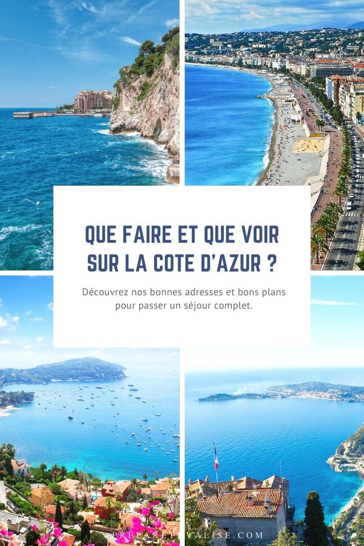 Que faire sur la Cote d'Azur