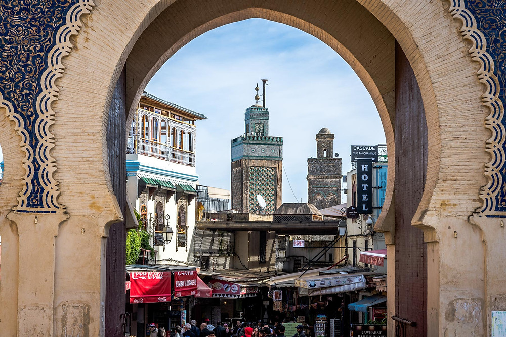 Bab Boujloud, Médina de Fès