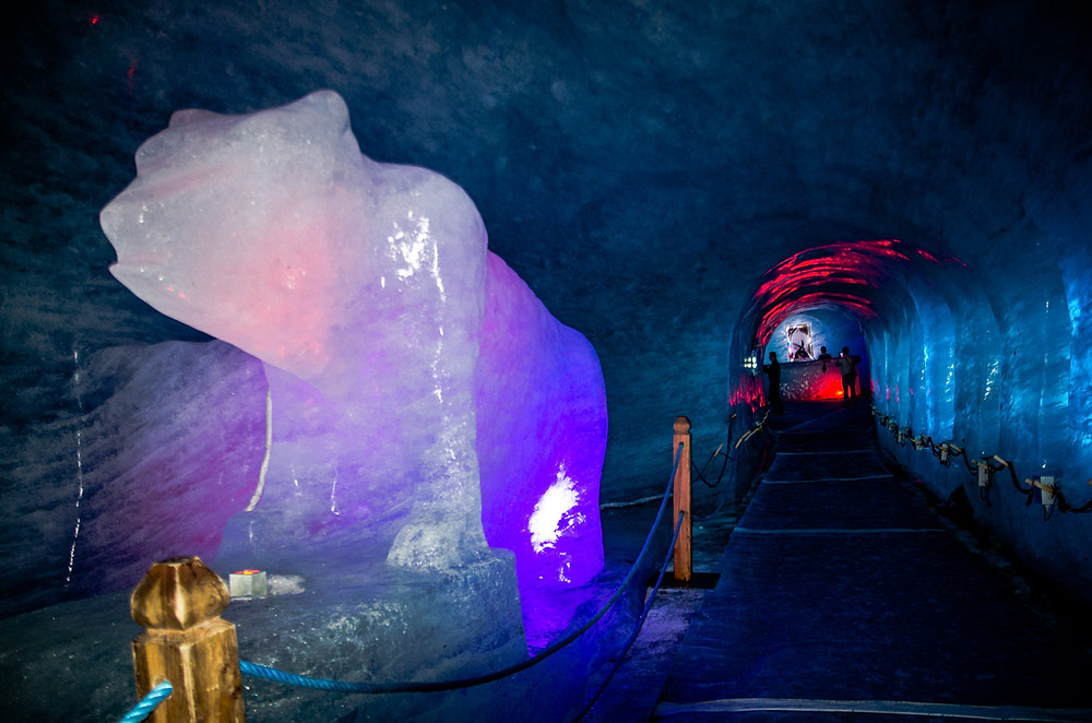 Grotte de Glace Chamonix Mont Blanc