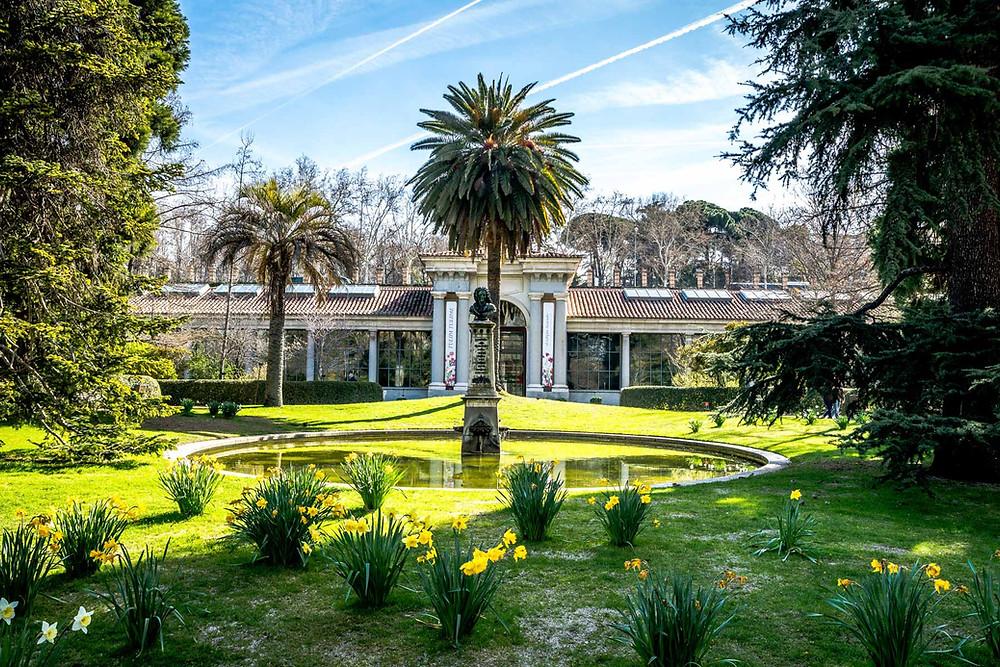 Jardin Botanique, Madrid