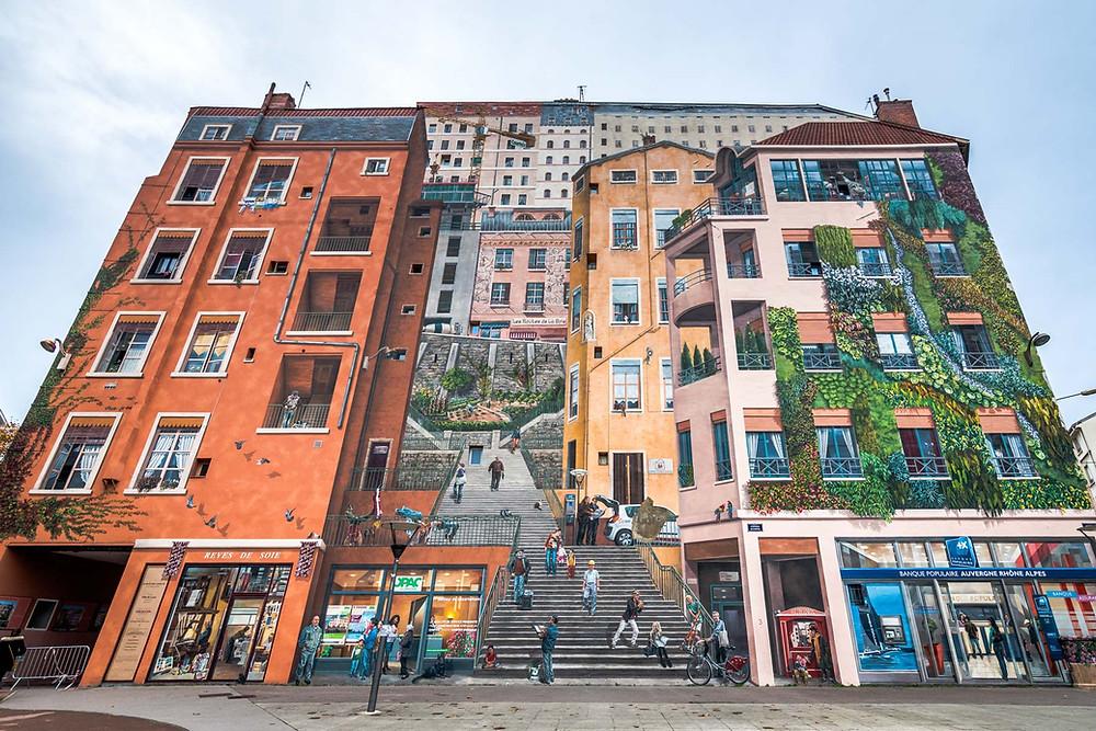 Fresque des Lyonnais, Lyon