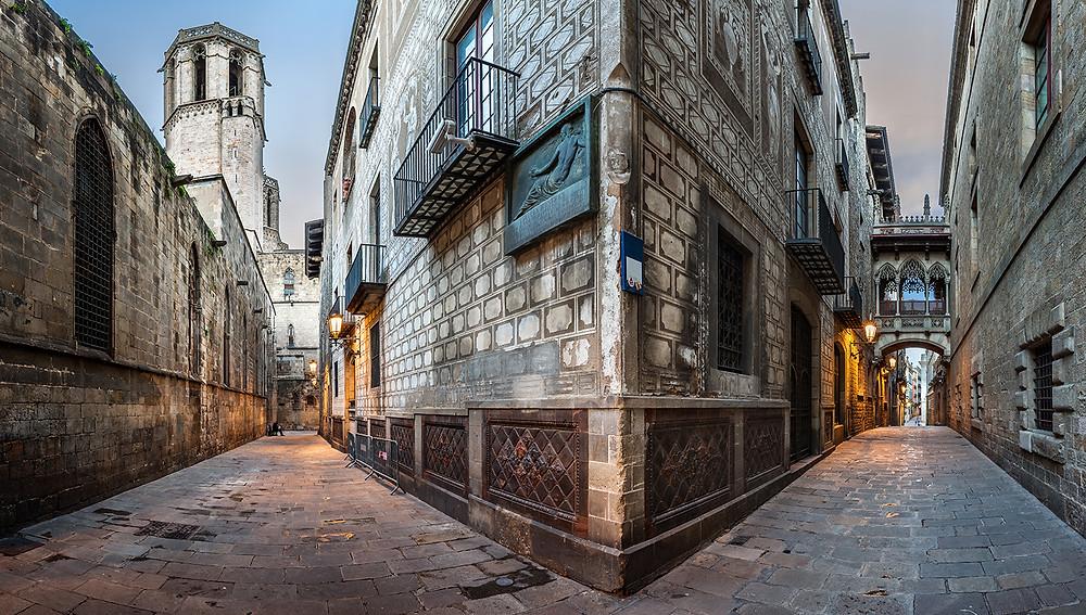 Barri Gotic Barcelone