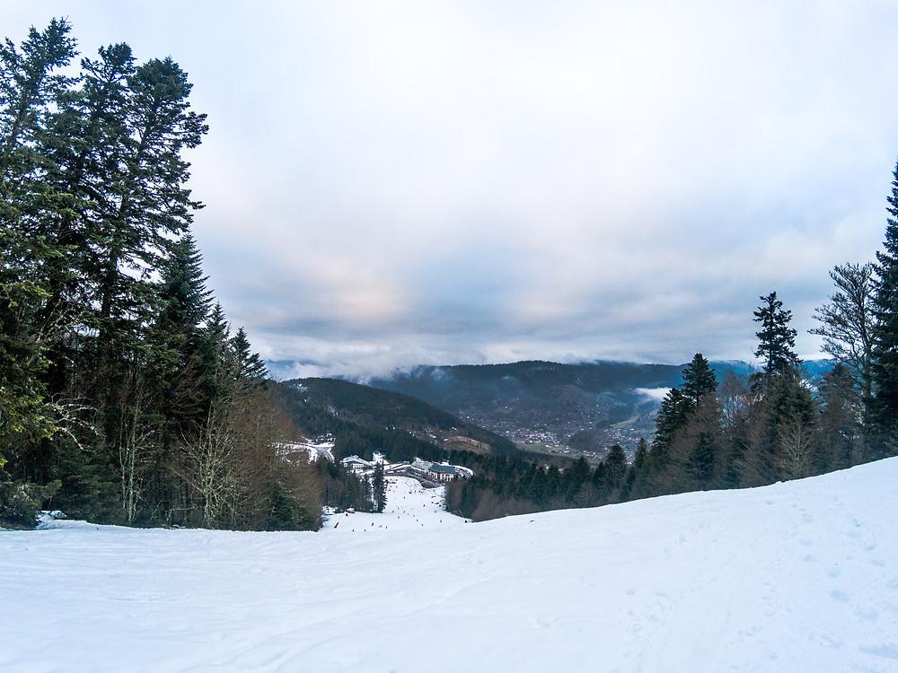 Station de ski Ventron Massif des Vosges