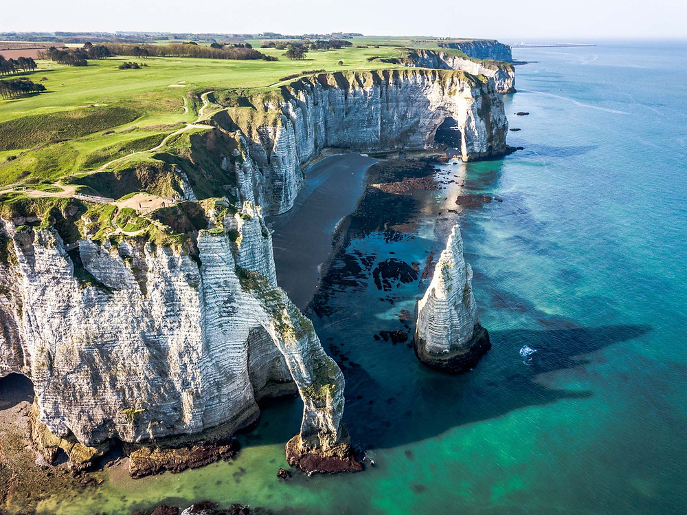 Falaises d'étretat Normandie