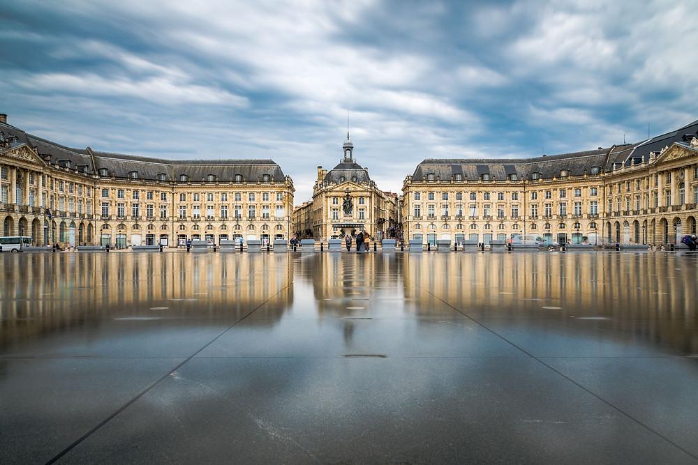 Place de la Bourse Miroir d'eau Bordeaux