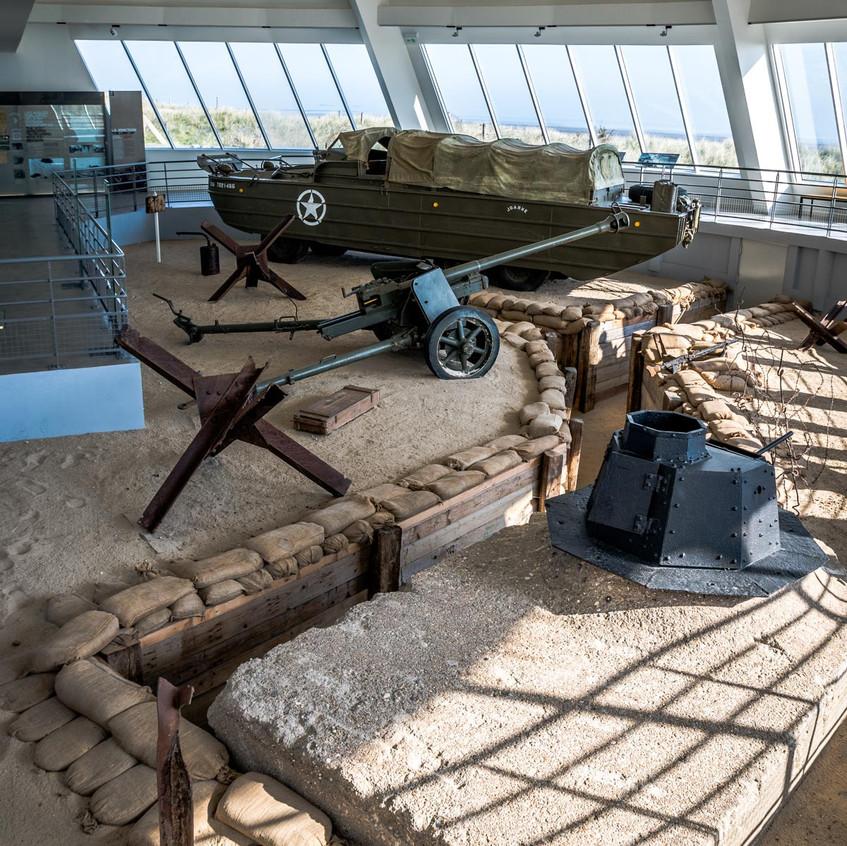 Musée du débarquement Utah Beach Nor