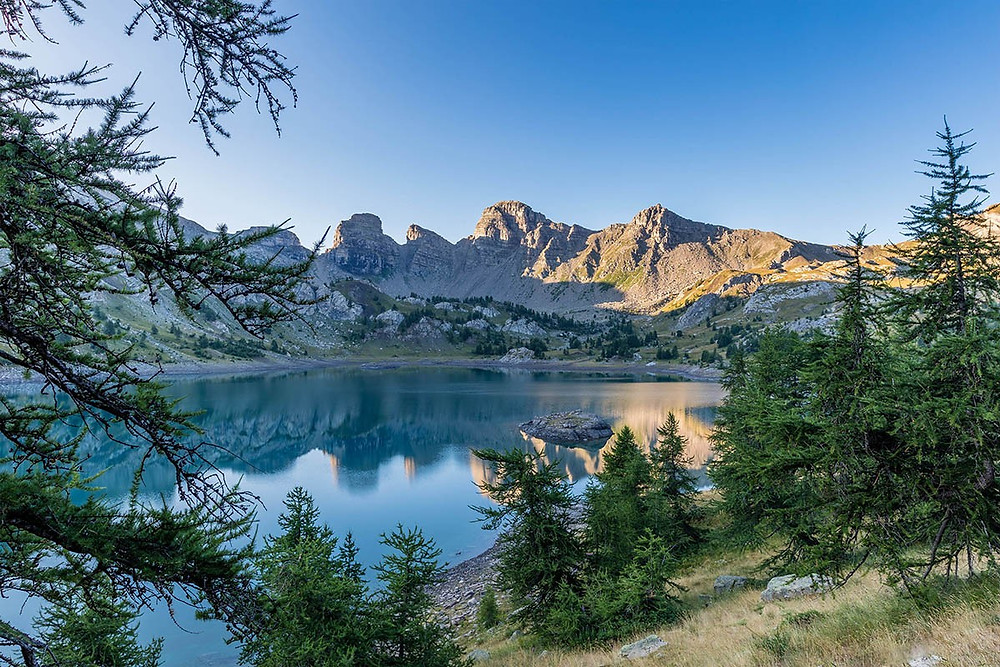 Le lac d'Allos Mercantour
