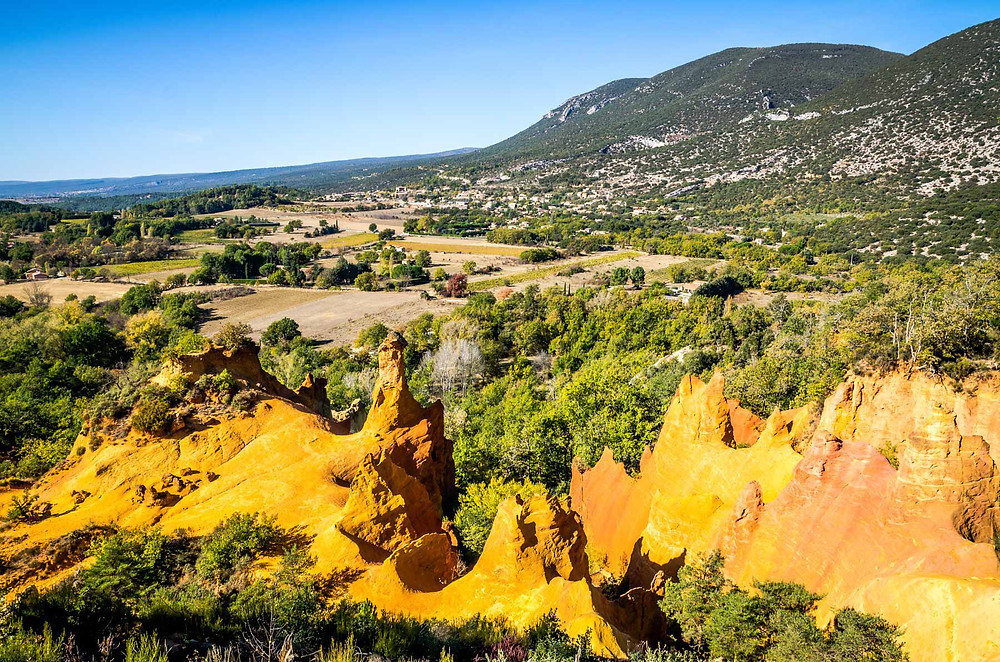 Colorado Provencal, les Cheminées des Fées