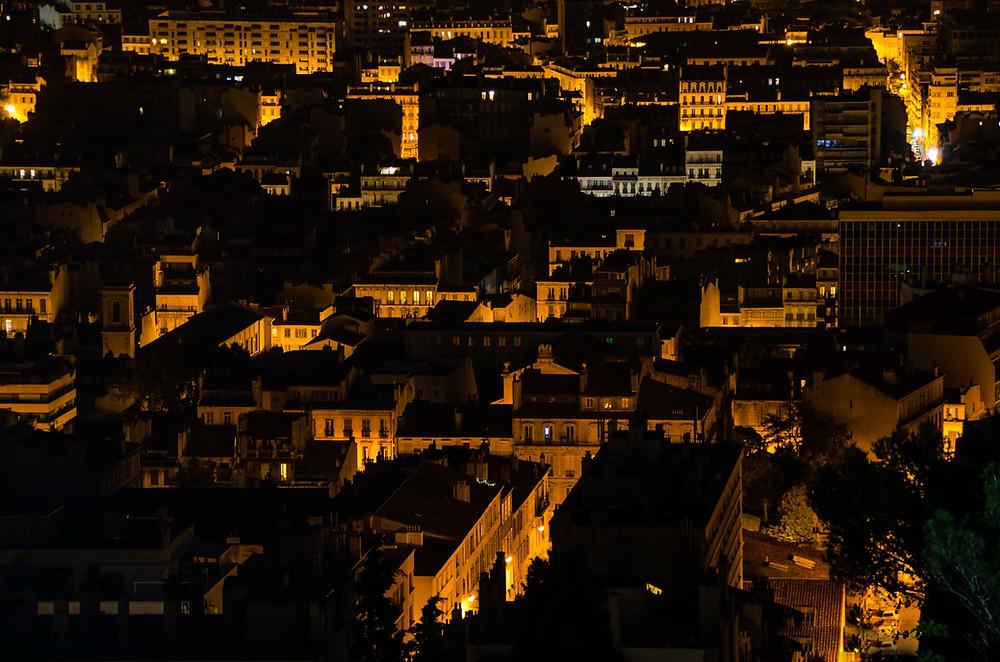 Photos de nuits à Marseille