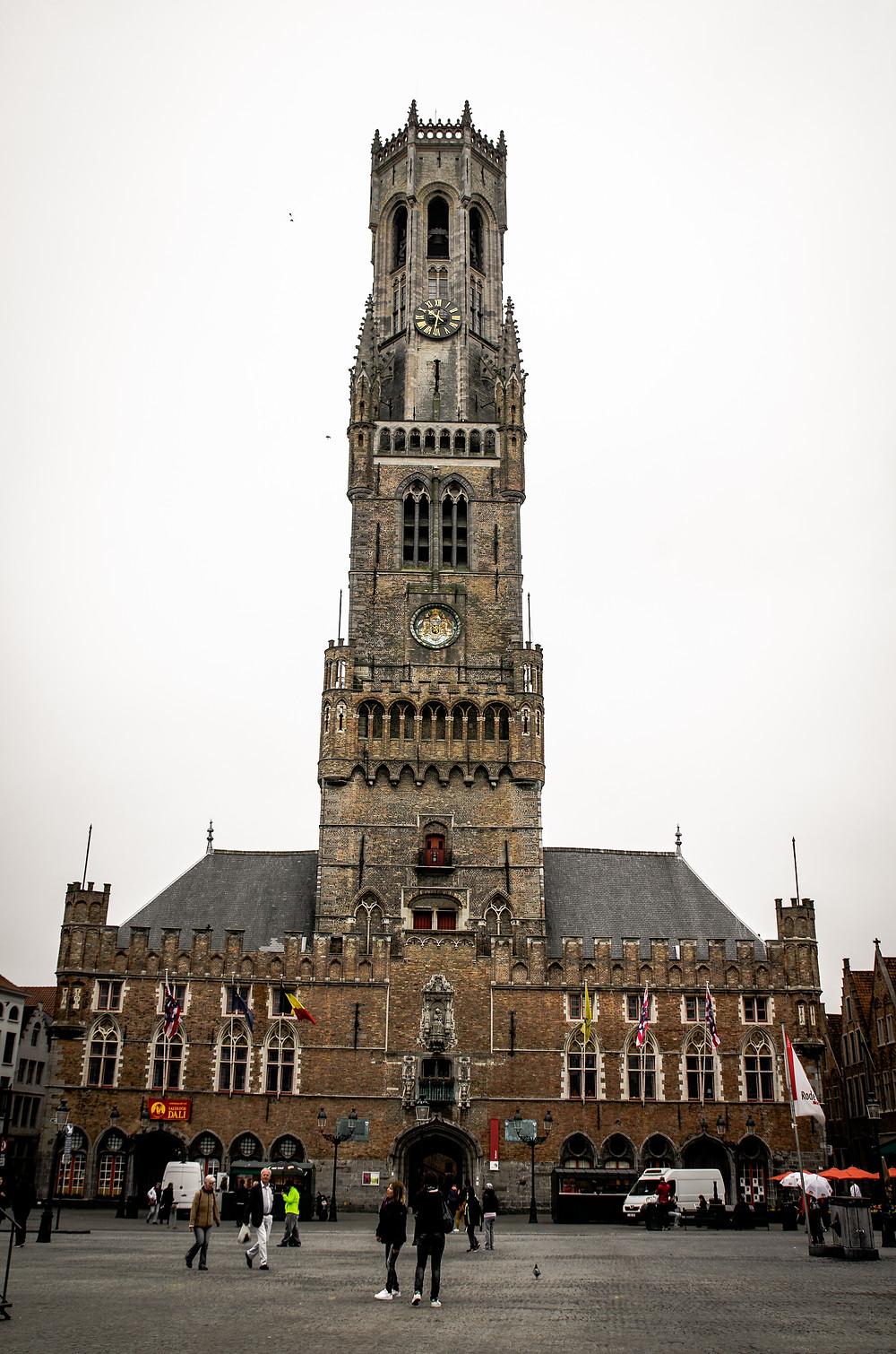 Beffroi, Bruges, Belgique
