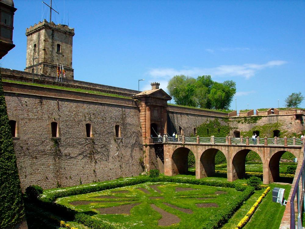 Castell de Montjuic Barcelone