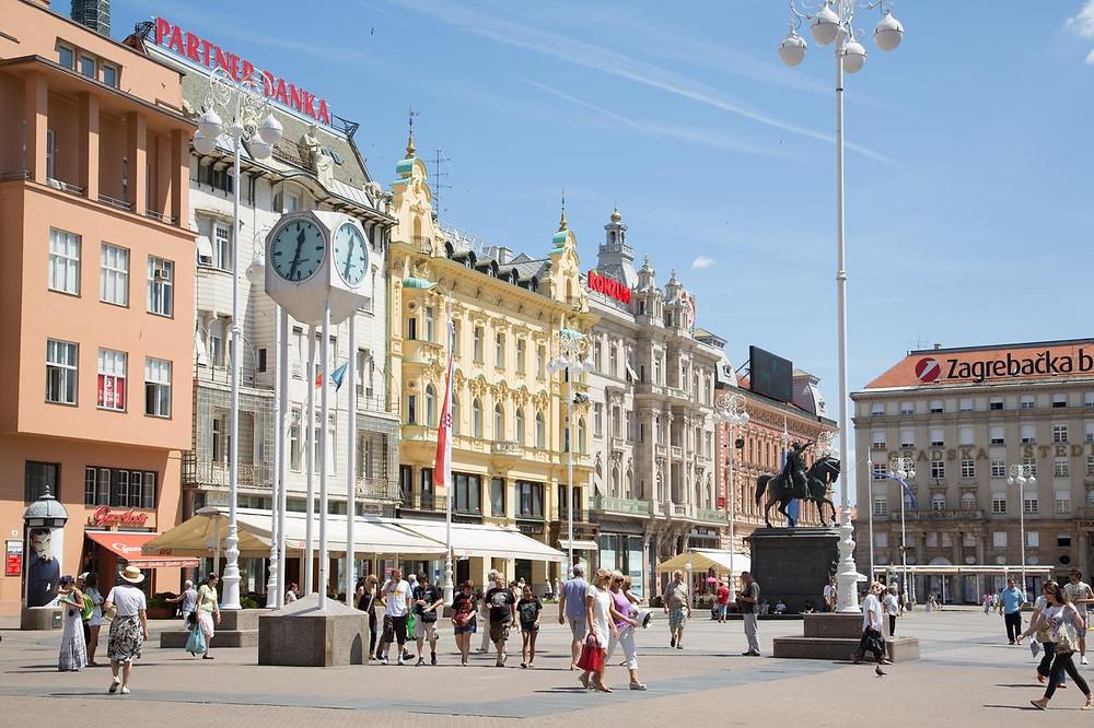 Place Jelačić Zagreb