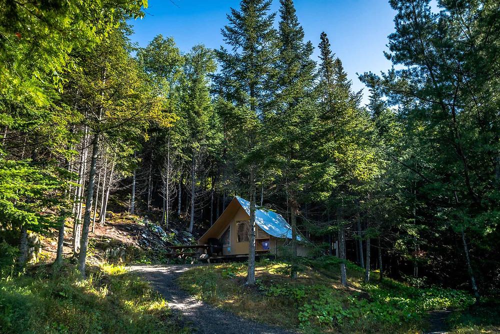 Camping Grands Pins Lac Témiscouata Québec