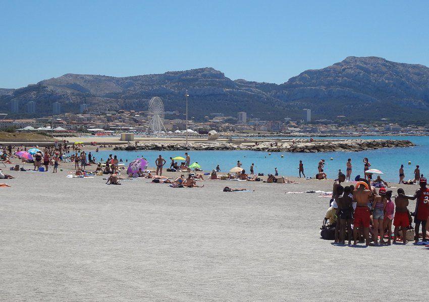 La Plage du Prado Marseille