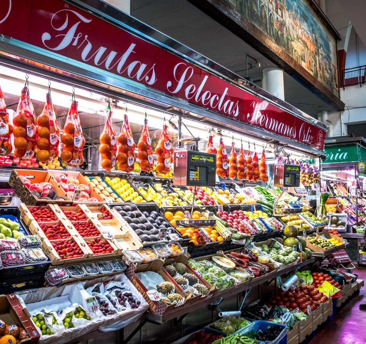 Mercado de la Cebada Madrid