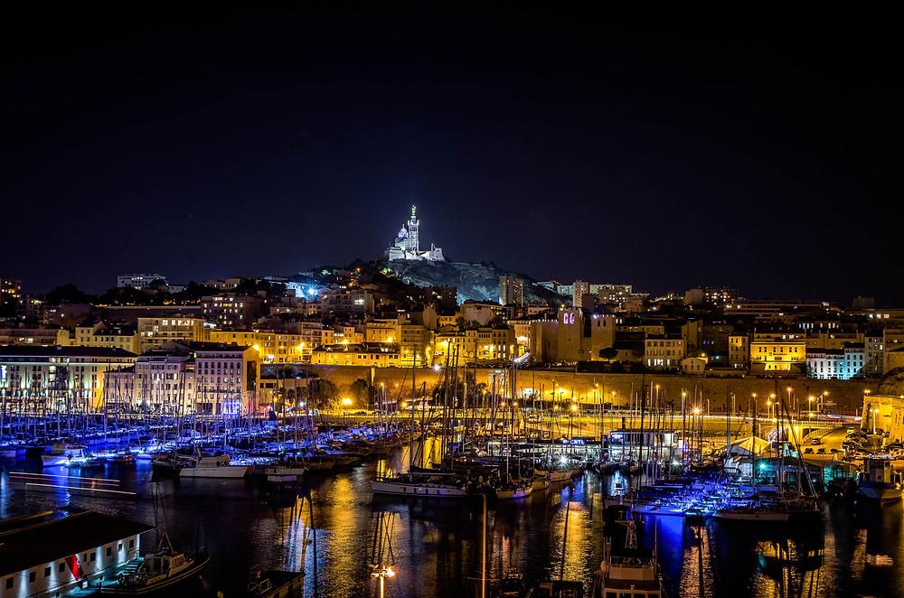 Notre Dame de la Garde, le Vieux Port, Marseille