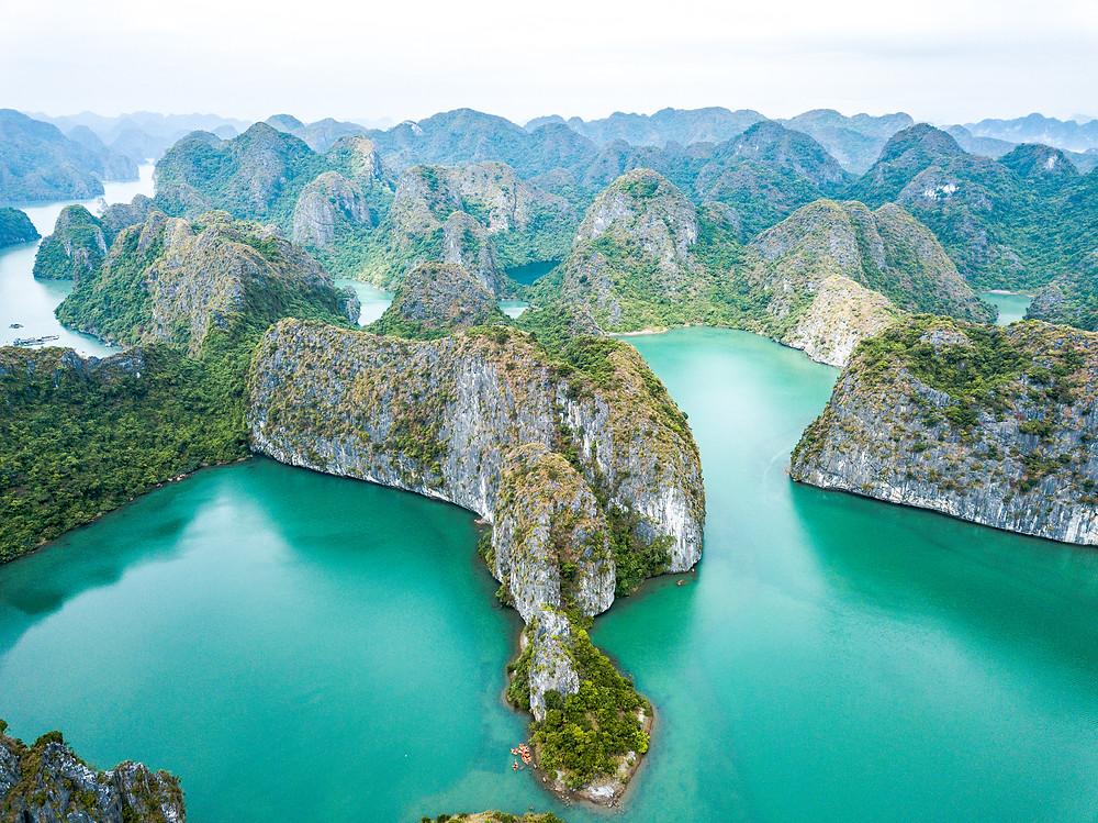La Baie d'Halong, incontournable au Vietnam