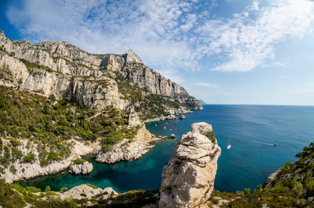 Calanque de Sugiton Marseille