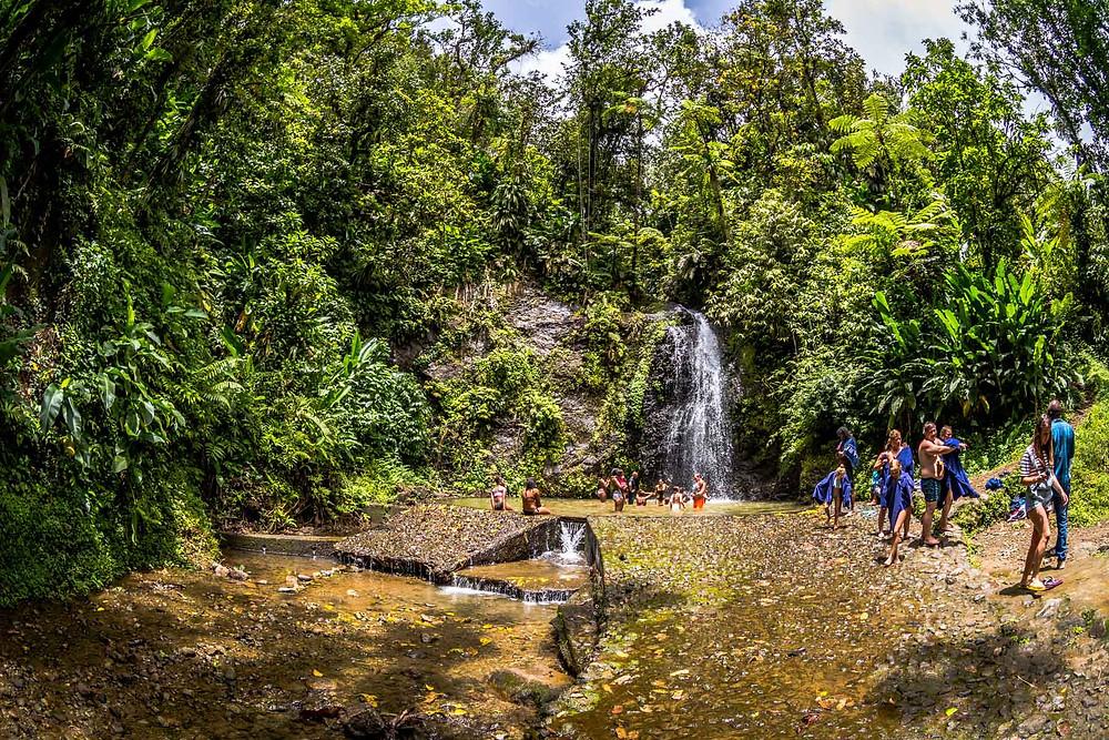 Cascade Saut Gendarme, Martinique