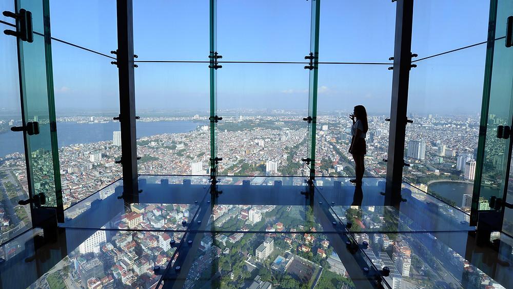 La tour Lotte Hanoi Vietnam