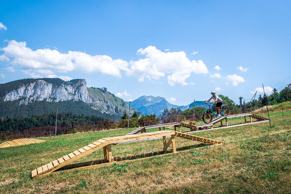 Trottin herbe Bellevaux Alpes du Léman